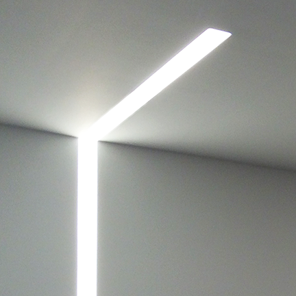 Corners Illuminate with connected lines of light. Nulite offers LED lit corners and intersections in many configurations for all the Regolo products. & Regolo by Nulite - Nulite Lighting azcodes.com